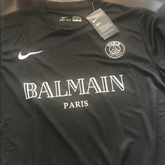 half off a61ea 32930 Balmain PSG Jersey NWT